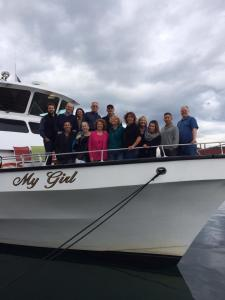 Integris Performance Advisors Team Meeting aboard My Girl in Tacoma, WA.