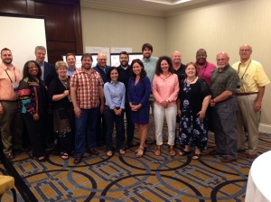Participants in the 2014 TLCW for Non-Profits. Learning from each other!